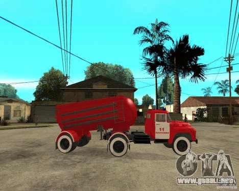 El camión de bomberos AB-6 (130В1) para la visión correcta GTA San Andreas