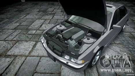BMW 740i (E38) style 32 para GTA 4 visión correcta
