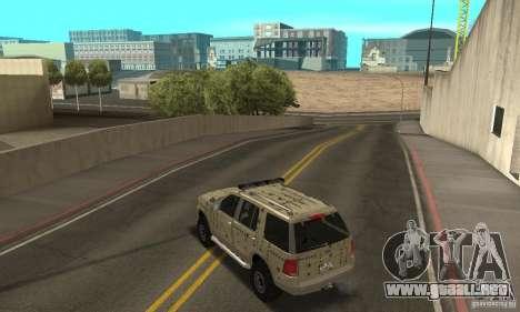 Ford Explorer 2002 para las ruedas de GTA San Andreas