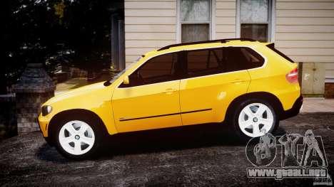 BMW X5 E70 v1.0 para GTA 4 left