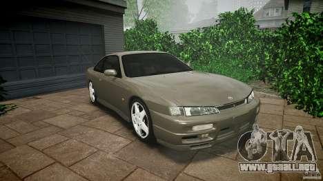 Nissan 200SX para GTA 4 vista superior