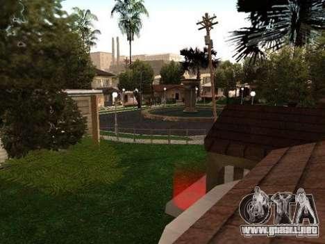 Nev Groove Street 1.0 para GTA San Andreas tercera pantalla