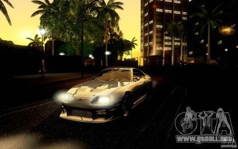 Toyota Supra Top Secret para la vista superior GTA San Andreas