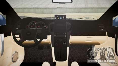 Chevrolet Captiva 2010 Final para GTA 4 vista desde abajo