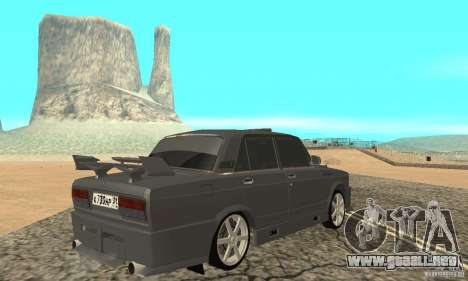 VAZ 2105 noctívaga para GTA San Andreas left