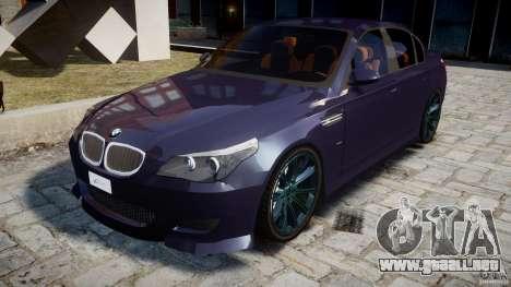 BMW M5 Lumma Tuning [BETA] para GTA 4