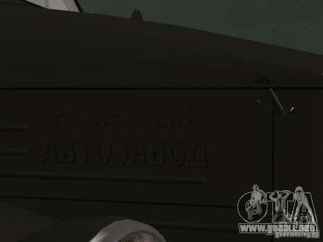 GAZ 51 p para la visión correcta GTA San Andreas