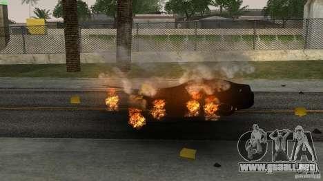 Overdose Effects v1.5 para GTA San Andreas sucesivamente de pantalla