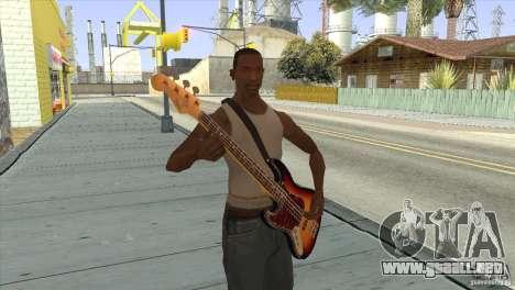 Canciones de la película en la guitarra para GTA San Andreas quinta pantalla