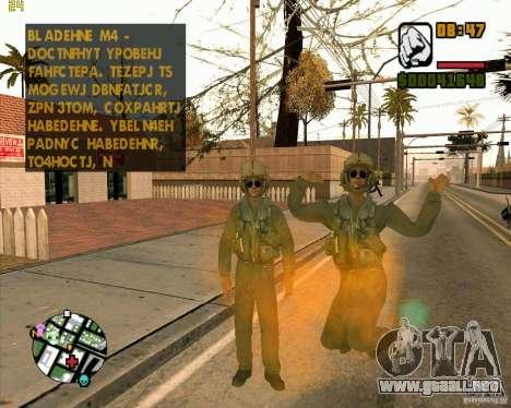 Piloto de COD4 para GTA San Andreas