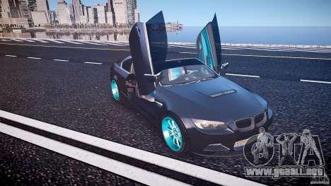 BMW E92 para GTA 4 interior