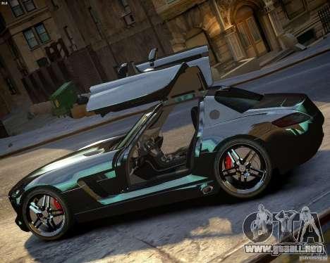 Mercedes SLS Extreme para GTA 4 left