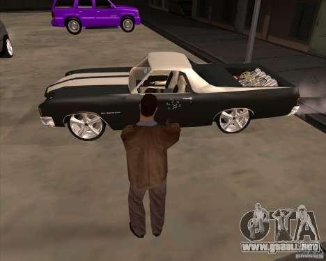 La piel es un miembro de la mafia para GTA San Andreas quinta pantalla