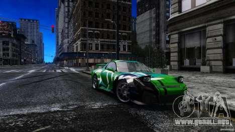 Mazda RX-7 Bushido para GTA 4