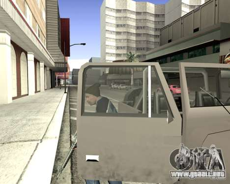 Cubierta del sistema para GTA San Andreas novena de pantalla