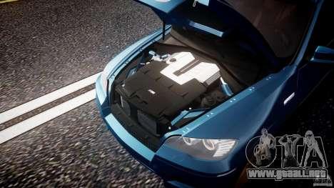 BMW X5 M-Power wheels V-spoke para GTA 4 vista superior