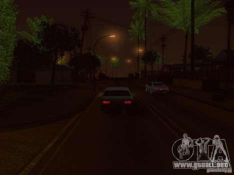 NFS GTA RACE V4.0 para GTA San Andreas segunda pantalla