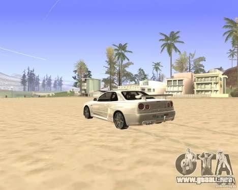 ENBSeries By Krivaseef para GTA San Andreas tercera pantalla