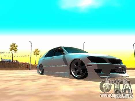 Toyota Altezza HKS para GTA San Andreas left
