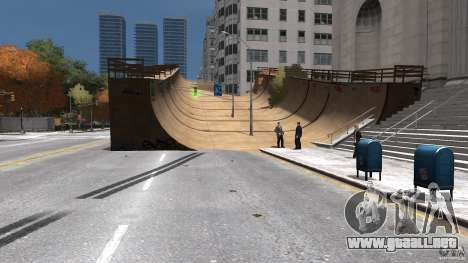 New Map Mod para GTA 4 quinta pantalla