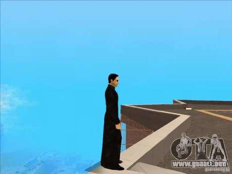Matrix Skin Pack para GTA San Andreas segunda pantalla
