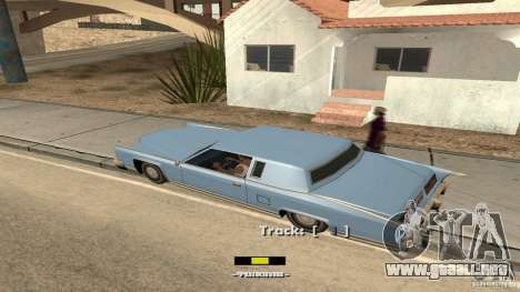 Music car v4 para GTA San Andreas