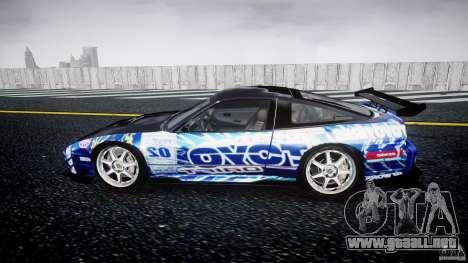 Nissan 240sx Toyo Kawabata para GTA 4 left