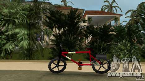 Mountainbike (Rover) para GTA Vice City left