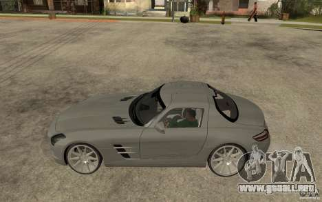 Mercedes-Benz SLS para GTA San Andreas left