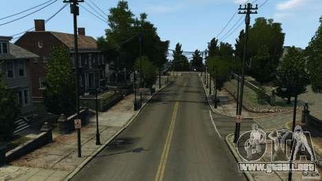 Ciudad vacía para GTA 4 adelante de pantalla
