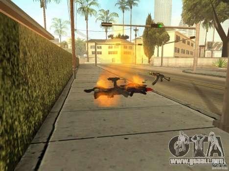 Armas nacional-versión 1.5 para GTA San Andreas quinta pantalla