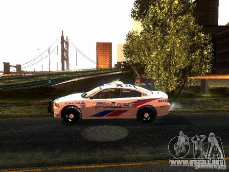 Dodge Charger 2011 Toronto Police para GTA San Andreas left