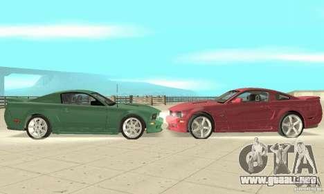 Saleen S281 v2 para GTA San Andreas left