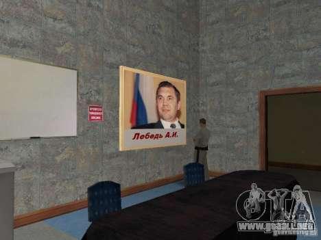 Cuerpo de cadetes de Krasnoyarsk para GTA San Andreas undécima de pantalla