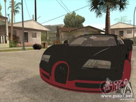 Bugatti Veyron Super Sport para GTA San Andreas