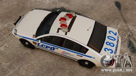 Policía Pinnacle ESPA para GTA 4 visión correcta