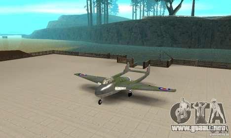 De-Havilland-Vampire ver 2.0 para GTA San Andreas