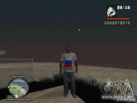Fútbol Rusia para GTA San Andreas sexta pantalla