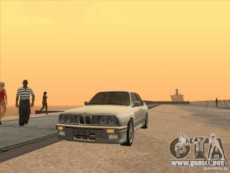 BMW M3 E30 1991 para la visión correcta GTA San Andreas