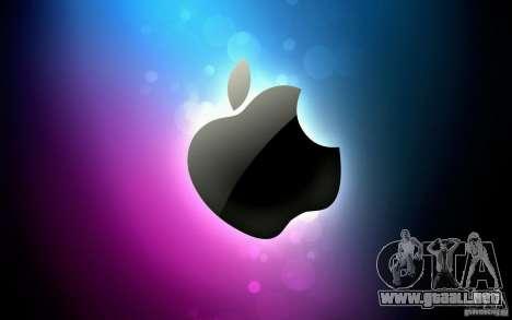 La pantalla de arranque de Apple para GTA San Andreas tercera pantalla