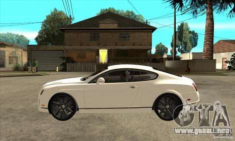 Bentley Continental Supersports para GTA San Andreas left