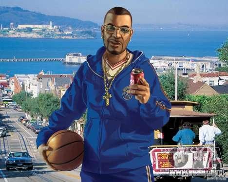 Pantalla de arranque en San Francisco para GTA 4
