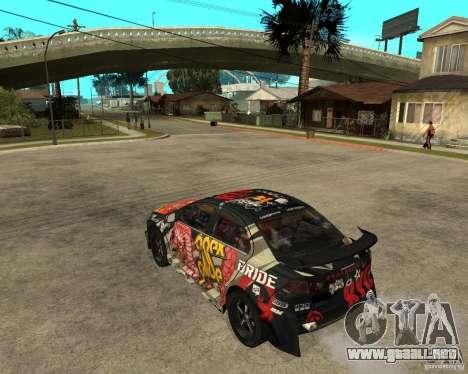 Mitsubishi Lancer EVO para GTA San Andreas