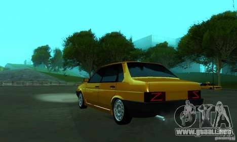 VAZ 21099 PROTOCOLO para GTA San Andreas left