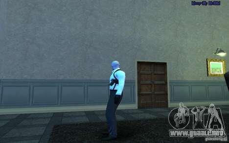 Agent 47 para GTA San Andreas tercera pantalla