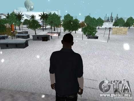 Snow MOD 2012-2013 para GTA San Andreas octavo de pantalla