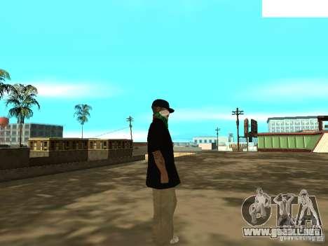 Mexicano Skin para GTA San Andreas sucesivamente de pantalla
