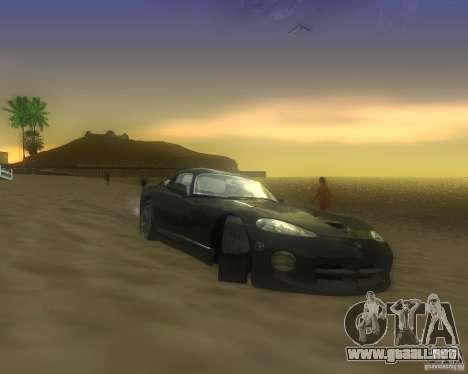 Modificación gráfica global para GTA San Andreas séptima pantalla