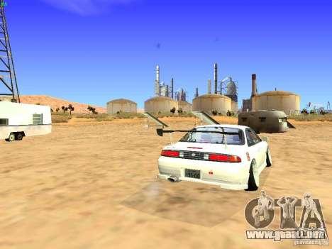 Nissan Silvia S14 JDM para la visión correcta GTA San Andreas