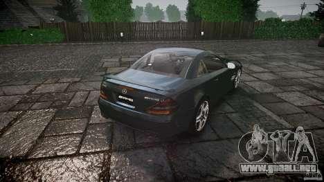 Mercedes Benz SL65 AMG V1.1 para GTA 4 vista superior
